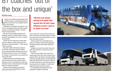 BT Coaches Featured In Issue 5 Of Business South